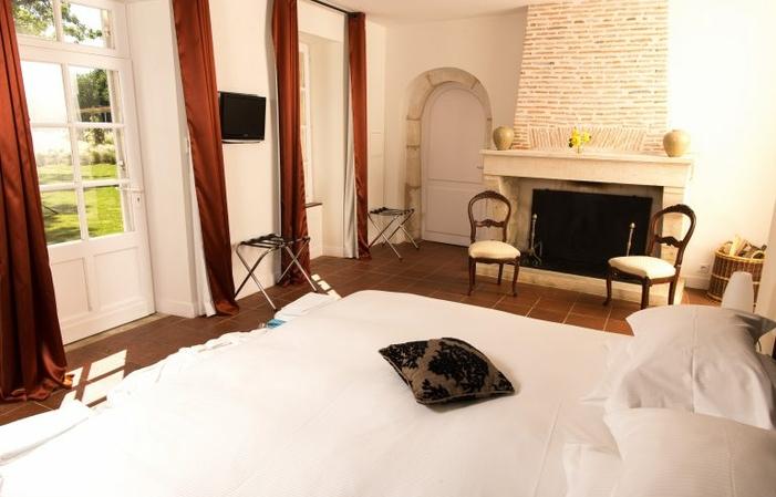Chateau Mayne Lalande, camera doppia Deluxe n ° 5 170,00€