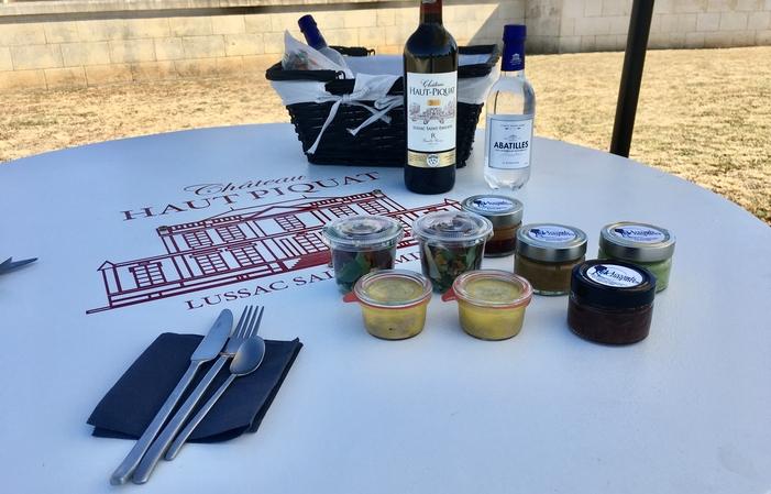 """Visite & """"Déjeuner sur l'herbe"""" dans le parc 30,00€"""