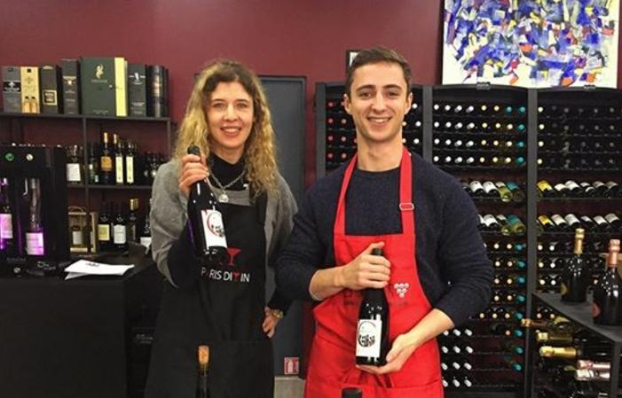 Dégustation de vin chez Paris Divin cave à vin 29,00€