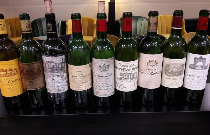 Dégustation Margaux et St-Julien de 1988 à 2005 89€