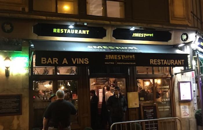 Diner oenologique en 4 services et 7 vins 58€