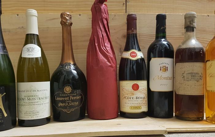 Dîner prestige : accord mets et grands vins 75€