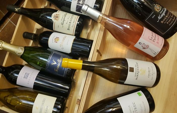 Dégustation de vins dans Paris en terrasse 10,00€
