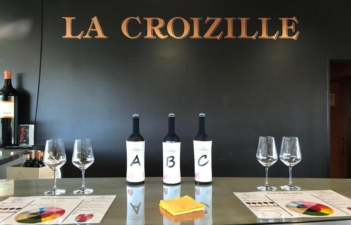 Visite Château La Croizille (guide en Français) 12,00€