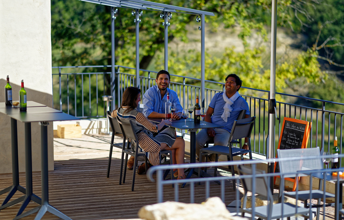 Visite-Dégustation, option Bar à Vin en Français 30,00€
