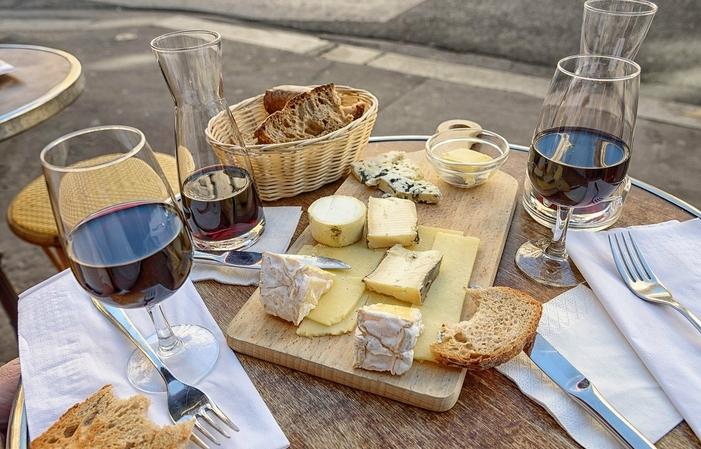 Vins et fromages d'exception 80€