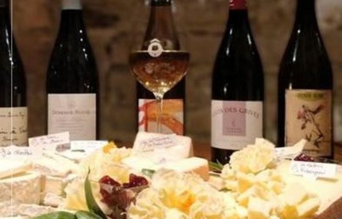 Dégustation accord vins et fromages 109,00€