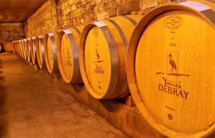 Visite et dégustation au Domaine Debray 12€