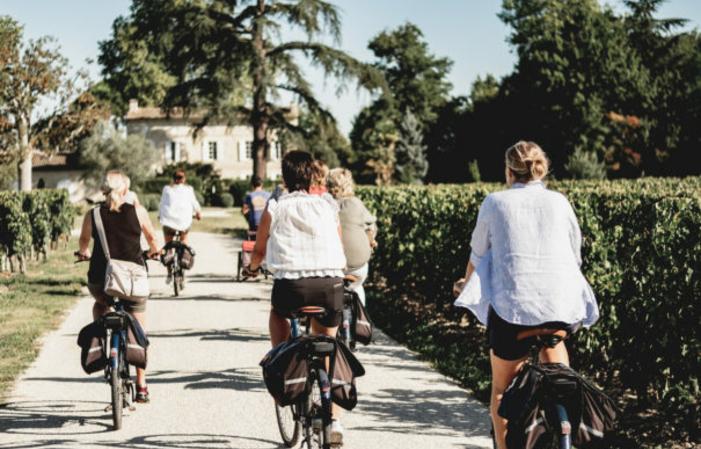Visite Saint-Emilion en vélo électrique - Journée 125,00€