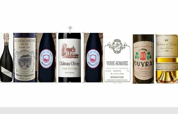 Dîner prestigieux : accord mets et vins fins 75,00€