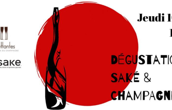 Soirée accord mets,  saké et champagne 29,00€