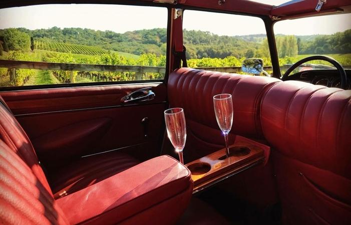 Ballade dans Bordeaux et visite Pessac Leognan 380,00€
