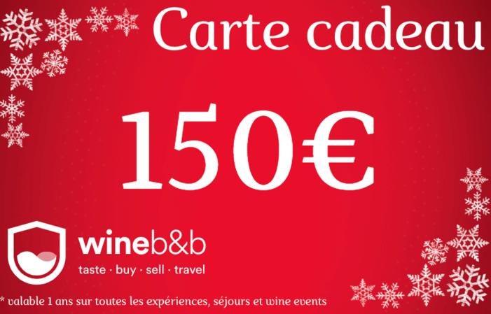 CARTE CADEAU WINEBNB 150€