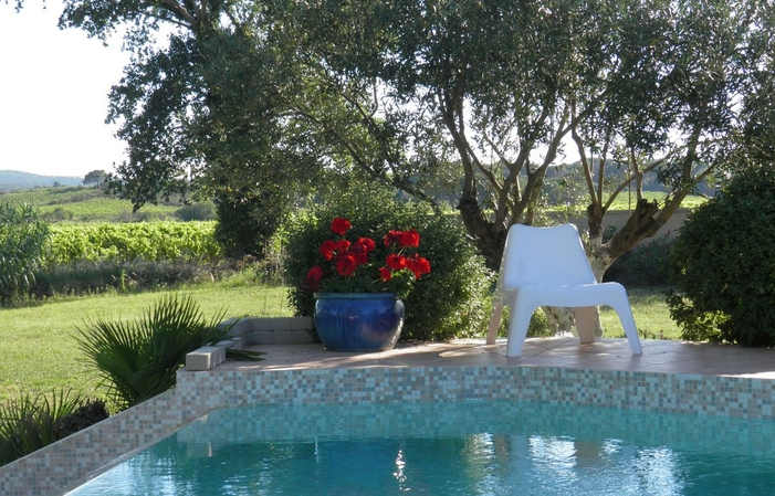 Chambre Zen, Villa Aigues Vives 90€