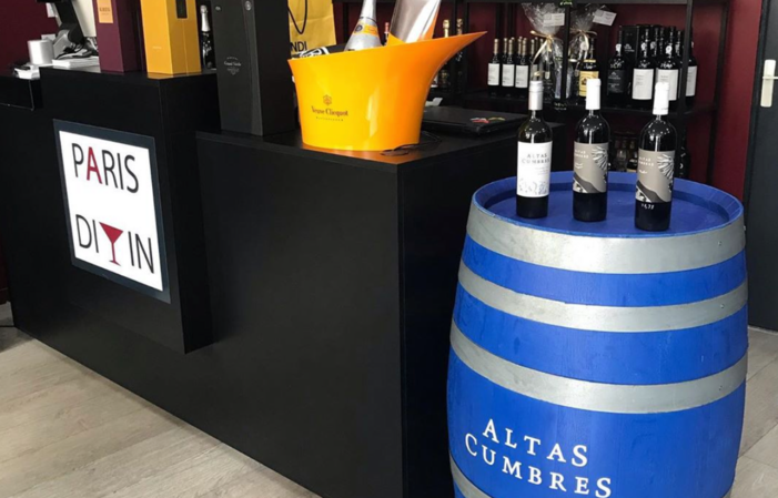 Wine tasting at Paris Divin wine cellar €29.00