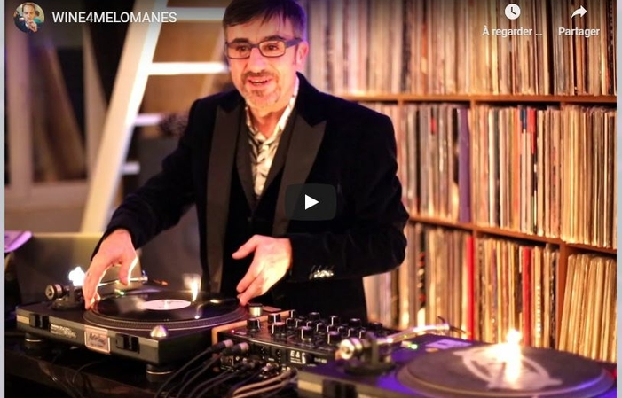 Evening tasting artist DJ producer sommelier €90.00
